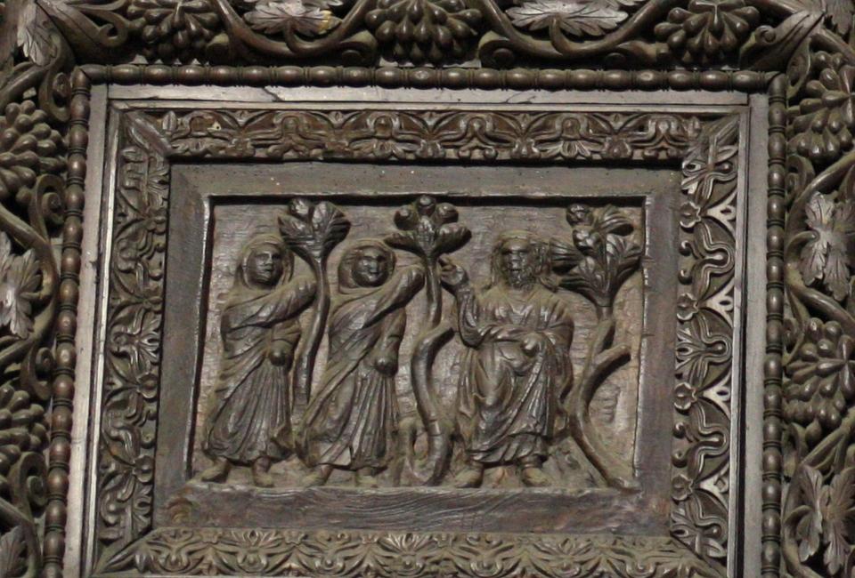 Carved Doors Of Santa Sabina Rome Cyberdisciple